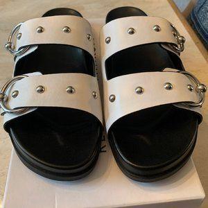 Rebecca Minkoff stud sandals